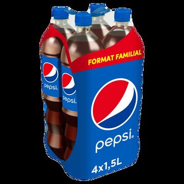 Pepsi Pepsi Cola Regular, 4x1,5l