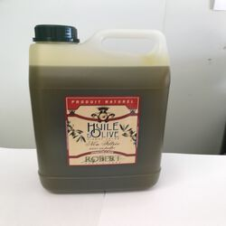 Huile d'olive vierge extra non filtré avec sa pulpe Robert bidon 3L