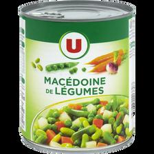 Macédoine de légumes U, boîte de 4/4 ouverture facile, 530g