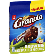 LU Brownie Gros Éclats De Noisettes, Granola Lu, Paquet De 180g