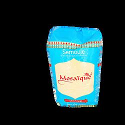 Semoule de blé dur moyenne MOSAÏQUE, sachet de 1kg