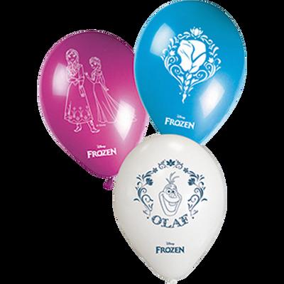 Ballons REINE NEIGES, 8 unités