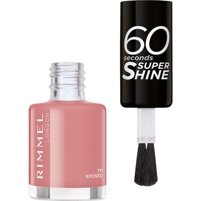 Vernis à ongles 60 seconds super shine colour block 711 xposed RIMMEL, blister