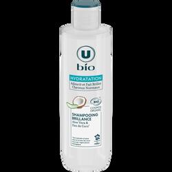 Shampooing aloe vera pour tous types de cheveux Bio U, 250ml