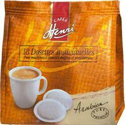 DOSETTES SOUPLES CAFE PURE PREMIUM 100% ARABICA