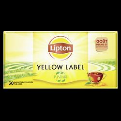 Thé yellow LIPTON label, x30 soit 60g
