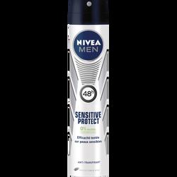 Déodorant Sensitive protect NIVEA FOR MEN, atomiseur de 200ml