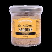 Gastromer Rillettes De Sardine Au Citron, Gastromer, 170g
