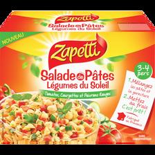 Salade de pâtes légumes du soleil ZAPETTI, 480g