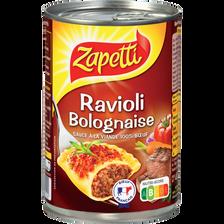 Ravioli sauce bolognaise ZAPETTI, 400g