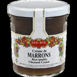 Crème de marrons ERIC BUR, 370g