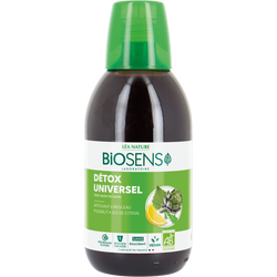Cocktail detox universel bio BIOSENS 500ml