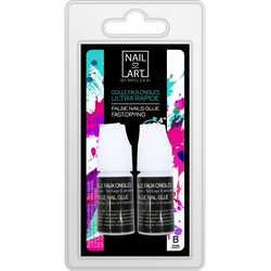 Colle faux ongles ultra rapide, 2x3g MISS DEN