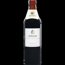 Vin rouge IGP Gard Syrah grande réserve U SAVEURS, 75cl