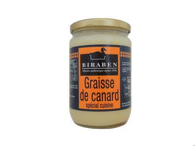 Biraben, Graisse de Canard Spécial Cuisine, 500g