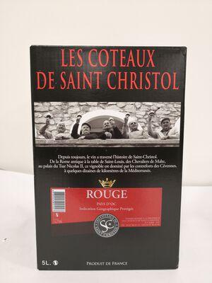 AOP Languedoc Saint Christol - Rouge - BIB 5L