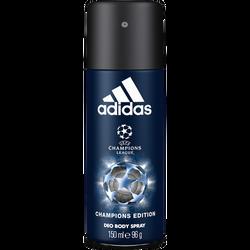 Déodorant men UEFA 4 champions édition ADIDAS, atomiseur de 150ml