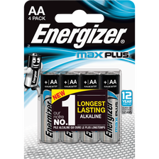 Energizer Piles , Max Plus Lr6, 4 Unités