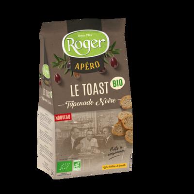 Toast tapenade noire bio ROGER, 100g