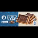 LU Petit Beurre Tablette Chocolat Lait U, Paquet De 150g