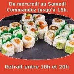Plateau sushi Mont Zao 24 pieces, SUSHI MONT BLANC