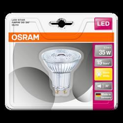 Ampoule led prémium OSRAM, spot, 35W GU10, verre lumière chaude