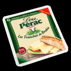 Tomme lait pasteurisé brebis tranches LOU PERAC 33%mg 120G