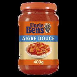 Sauce à cuisiner aigre douce UNCLE BEN'S, 400g
