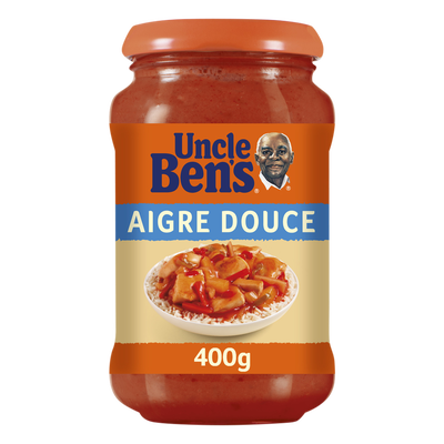 Sauce à cuisiner aigre douce UNCLE BEN'S, bocal de 400g