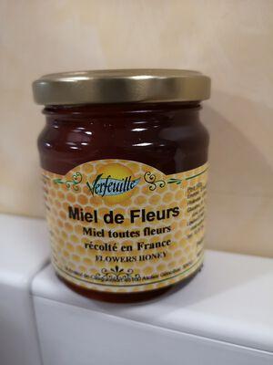 VERFEUILLE MIEL DE FLEURS 250G