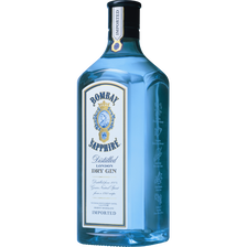 Gin BOMBAY SAPPHIRE, 40°, bouteille de 70cl