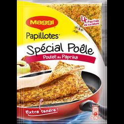 """Papillotes spécial poelé """"poulet paprika"""" MAGGI, 23g"""