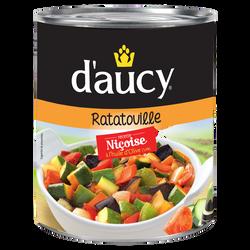 Ratatouille nouvelle recette D'AUCY, boîte de 750g