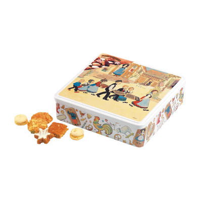 Boîte à gateaux garnie de petits gateaux HANSI, 500g
