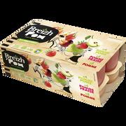 Breizh' Pom Compote De Fruits Allégée Pommex8/pomme Fraisex4/pommes Poires X 4 Breizh'pom, 16x100g