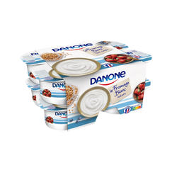 Fromage blanc nature 3,2% mg DANONE, 8x100g