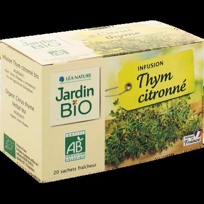 Infusion thym citronné JARDIN BIO, boîte de 30g