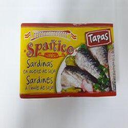 Sardines à l'huile de soja Spanico 120g