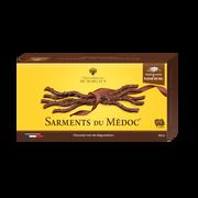 Margaux Sarment Du Médoc Noir Fleur De Sel Chocolaterie De Margaux 155g