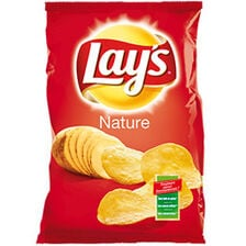Chips nature LAY'S, paquet de 145g
