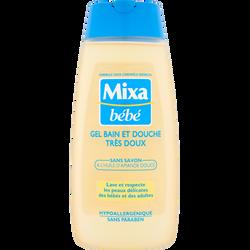 Gel lavant bain et douche MIXA BEBE, 200ml