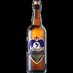Bière blonde, MELUSINE, bouteille de 75cl