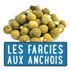 OLIVE FRAICHES FARCIE ANCHOIS 200G