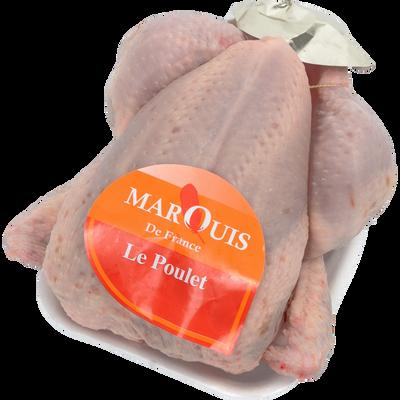 Poulet prêt à cuire congelé, 1,2kg