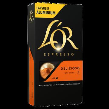 Maison du Café Café Capsules L'or Espresso Delizioso X10