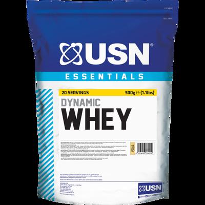 Whey proteine vanille poudre ULTIMATE SPORT NUTRITION, sachet de 500g