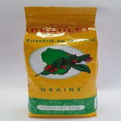 café Chaulet en grains torréfié en Guyane 500g