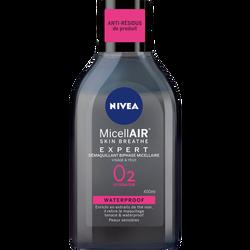 Démaquillant visage waterproof biphase micellaire NIVEA, 400ml