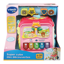 Super cube des decouvertes rose VTECH