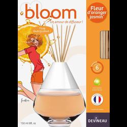 Diffuseur de parfum, à froid, bloom, 150ml, fleur d'oranger jasmin